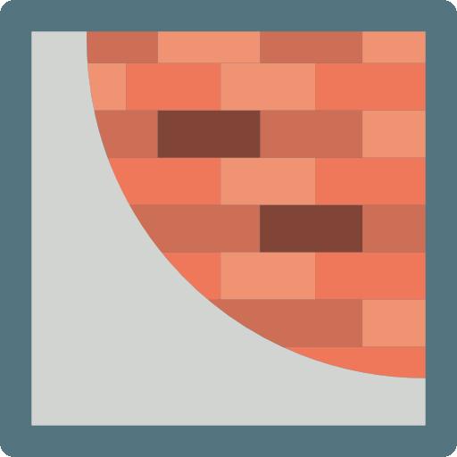 Plastering icon